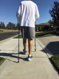 walking 2 weeks after knee replacement surgery
