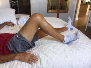 heel slide exercise
