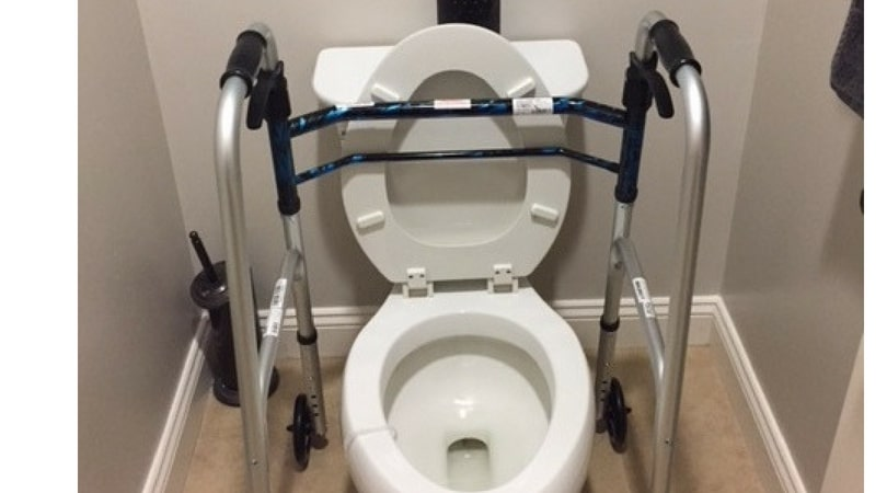 how to use the bathroom after knee replacement surgery