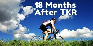 18 months after knee replacement surgery