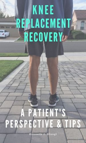 Knee replacement recovery book